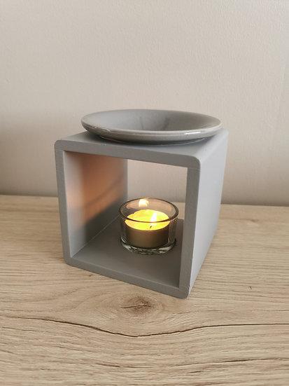 Brûle parfum Simply wood gris