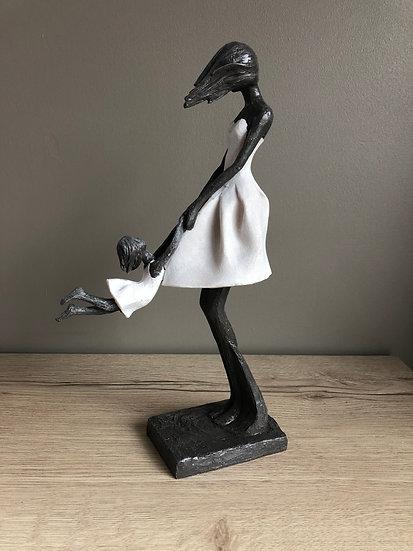 Femme au vent