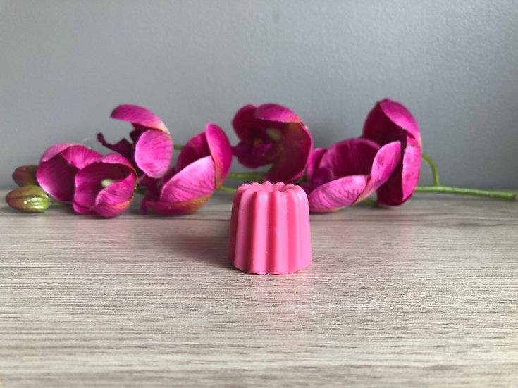 Cannelé Rose et fleurs de pommier 17g