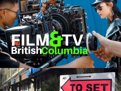 B.C.'s Film & TV Production Booms to Pre-COVID Numbers