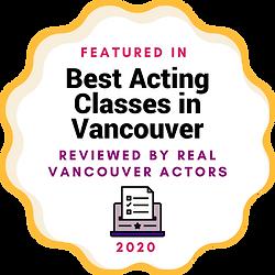 SI - Badge - Best Acting Classes in Vanc