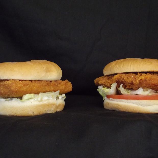 Fish and Chicken Sandwich