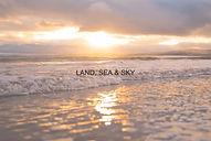 Waves at sunset in Exmouth, Devon