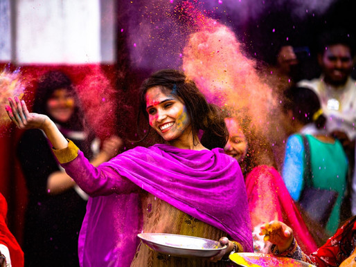 Holi: The celebration of Love, Laughter and Togetherness