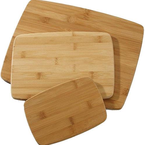CHOPBOX Bamboo Cutting Board, Set of 3