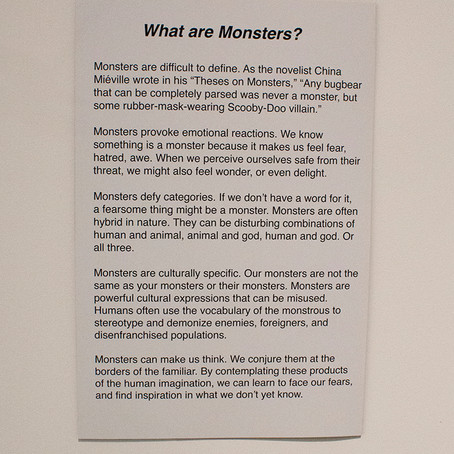 Monsters Marks