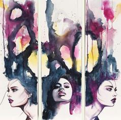 Allure (triptych)