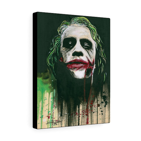 I'M A MAN OF MY WORD (The Joker) canvas print