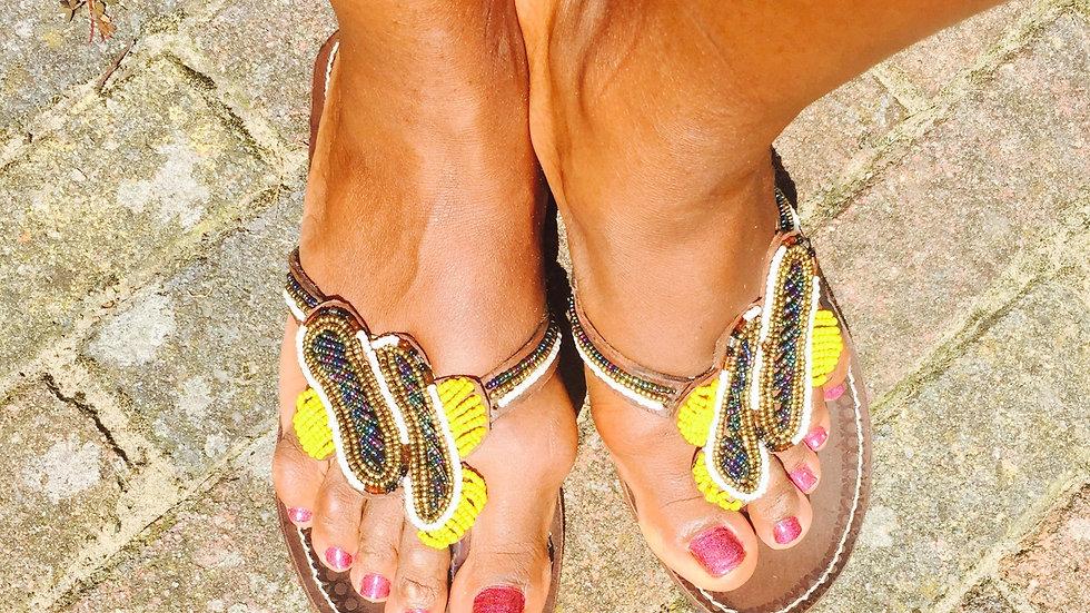 Maasai Slippers