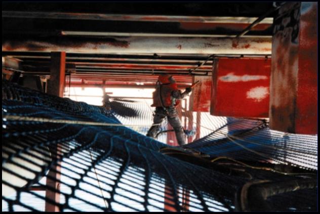 Walk on Netting Offshore