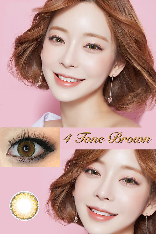 4 tone Brown