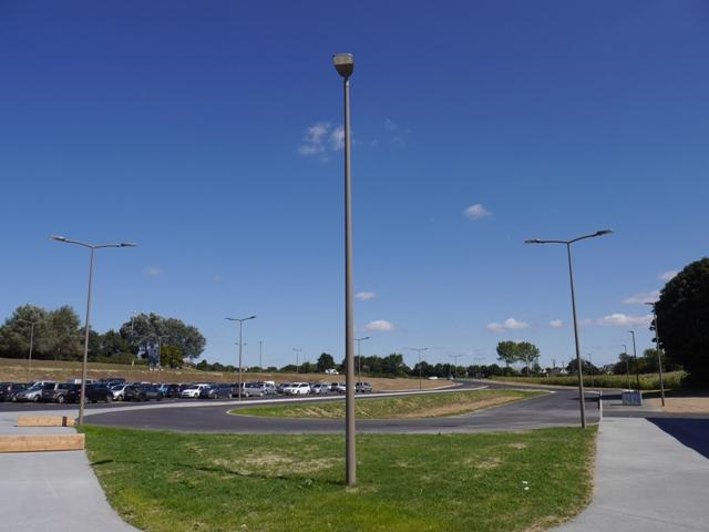 Parking du collège Simone Veil