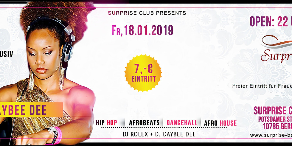 SURPRISE CLUB - AFRO & BLACK MUSIC PARTY