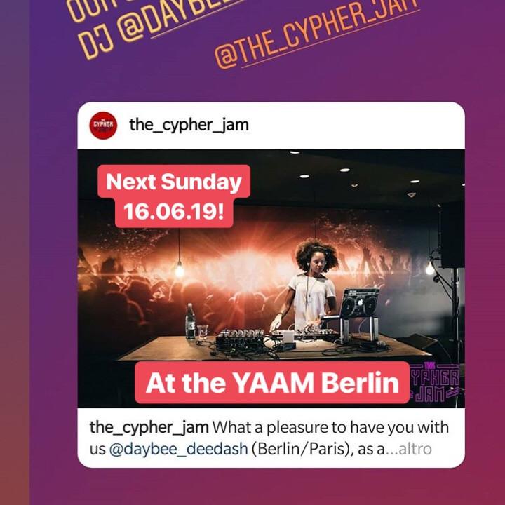 CYPHER JAM @ YAAM BERLIN