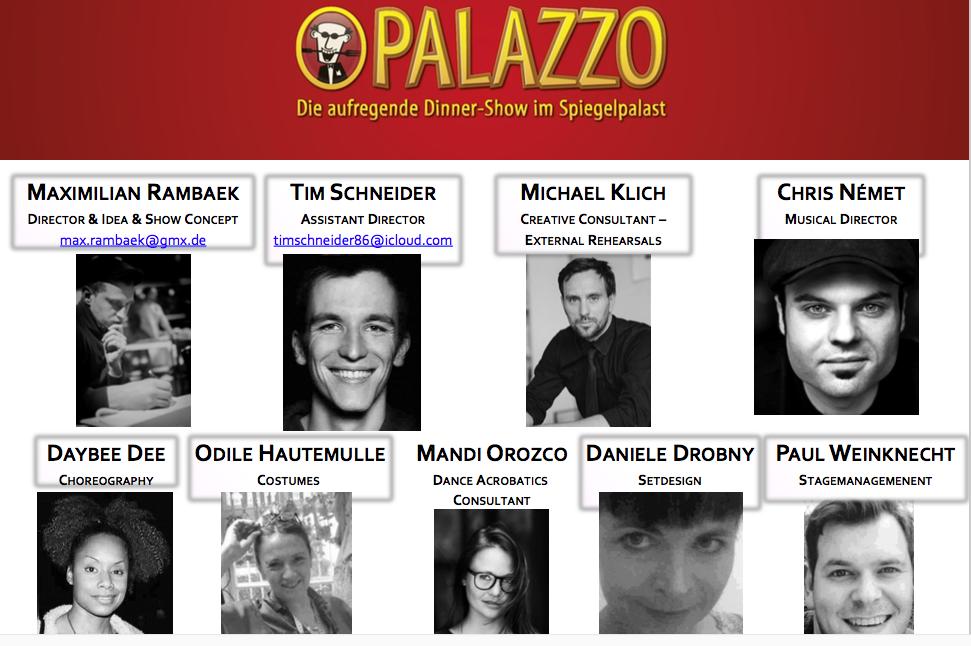 Palazzo - choreography - Team Prod