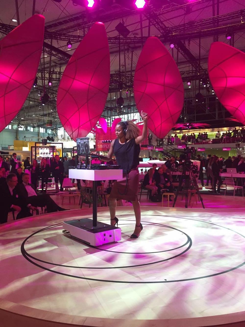 Cebit Fair in Hannover.