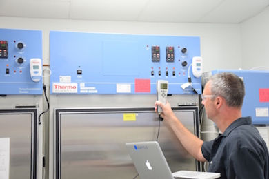 Quantus incubator stability chamber clibration service