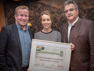 e+msa EnergieBeratung erhält EFK Zertifikat