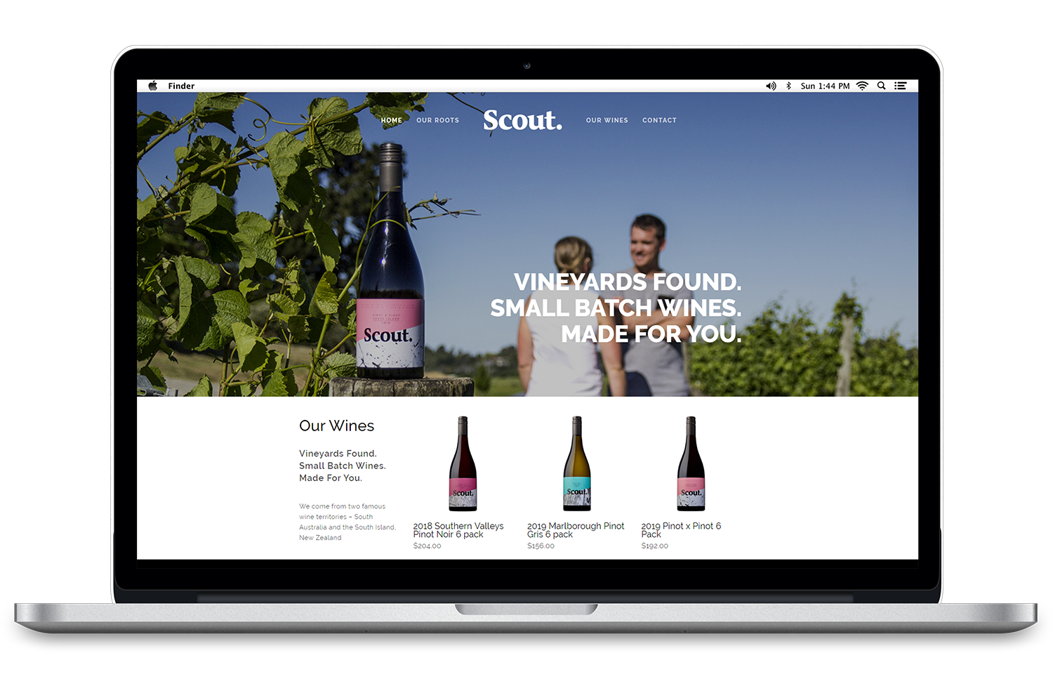 Scout-Wines-Website-Design-Invercargill.