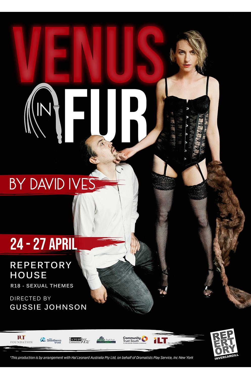 Venus-in-Fur-Invercargill-poster-design.