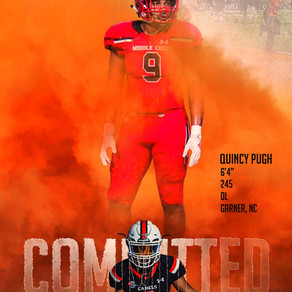 Pugh Commits to Campbell..