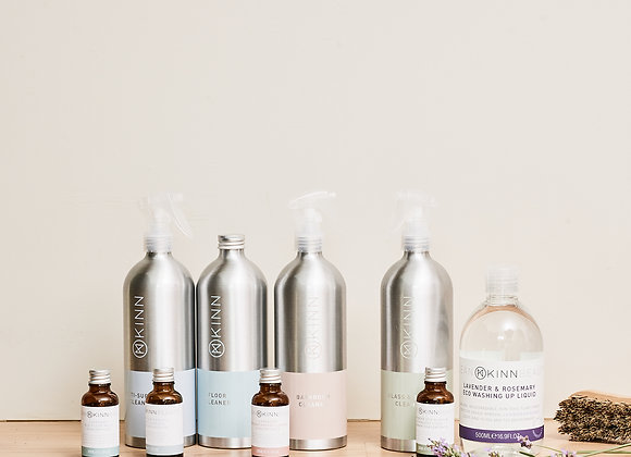 THE ECO-CLEANING ESSENTIALS STARTER BUNDLE
