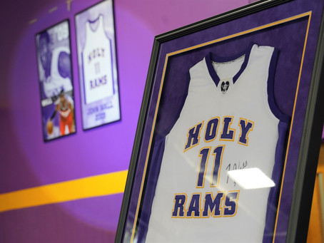 John Wall High School Number Retired at Word of God Christian Academy in Raleigh, NC.