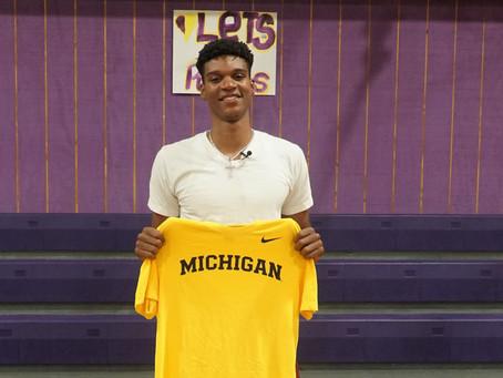Isaiah Todd Commits to Michigan!