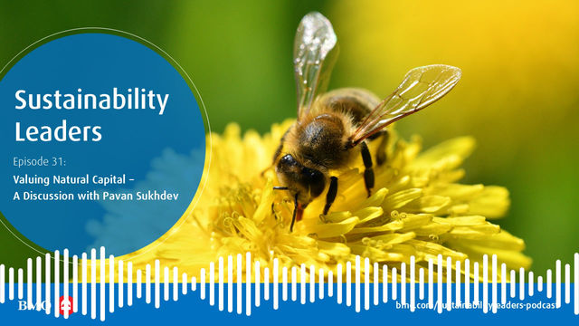 Valuing Natural Capital – A Discussion with Pavan Sukhdev and BMO