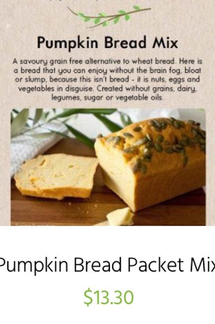 Pumpkin Bread Packet Mix