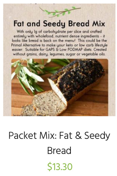 Fat and Seedy Bread Packet Mix