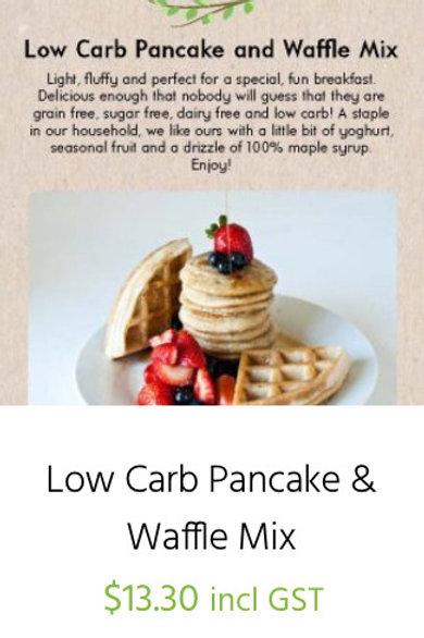 Low Carb Pancake and Waffle Mix