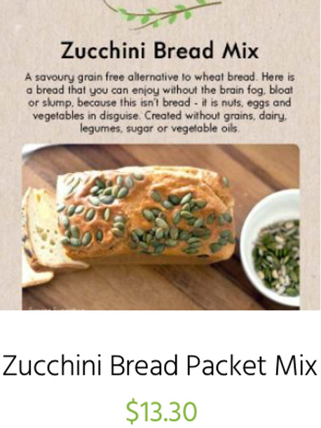 Zucchini Bread Packet Mix