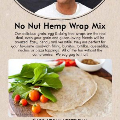 No Nut Hemp Wraps Packet Mix