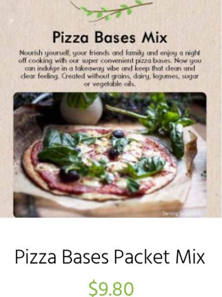 Pizza Bases Packet Mix