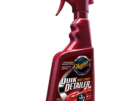 Meguiar's Quik Detailer Mist & Wipe, 16 oz.