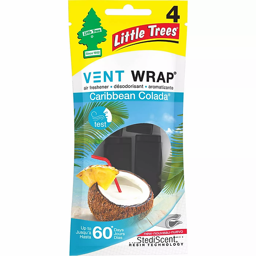 Little Trees Vent Wrap, 4-Pack