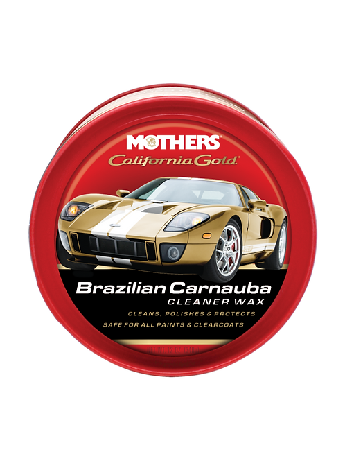Mothers California Gold Brazilian Carnauba Cleaner Wax, 12 oz.