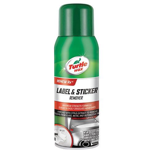 Turtle Wax Label & Sticker Remover, 10 oz.