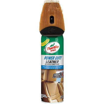 Turtle Wax Power Out! Leather Cleaner & Conditioner Spray,
