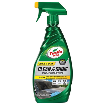 Turtle Wax Clean & Shine Total Exterior Detailer, 26 oz.