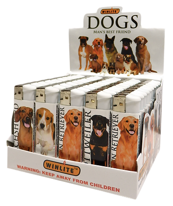 Winlite Dogs Refillable Cigarette Lighters