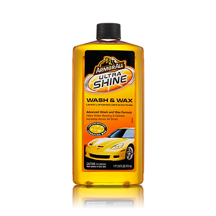 ArmorAll Ultra Shine Wash & Wax, 16 oz.