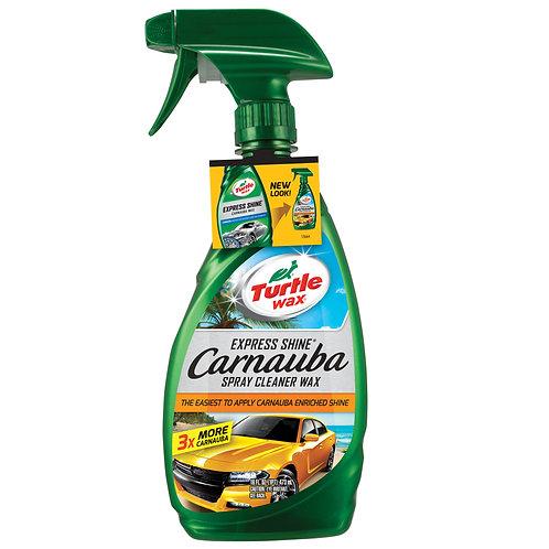 Turtle Wax Express Shine Carnauba Spray Cleaner Wax, 16 oz.