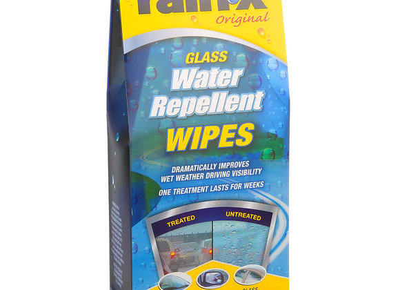Rain-X Glass Water Repellent Wipes, 10-Pack