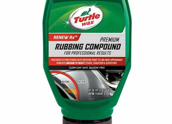 Turtle Wax Premium Rubbing Compound For Professional Results, 18 oz.