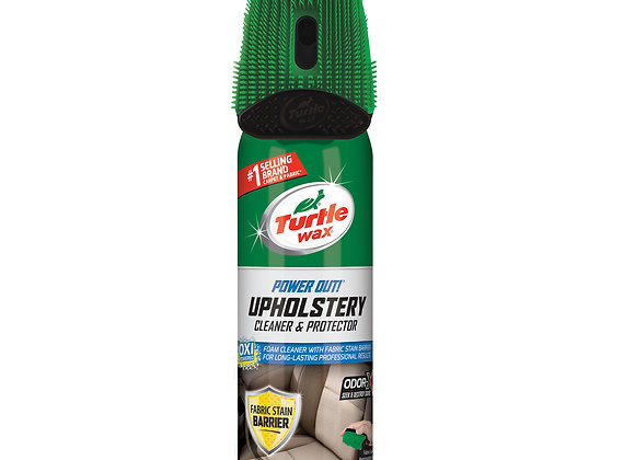 Turtle Wax Power Out! Upholstery Cleaner Odor Eliminator