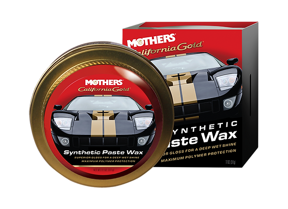Mothers California Gold Synthetic Paste Wax, 16 oz.