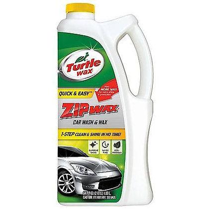Turtle Wax Quick & Easy Zip Wax (Car Wash & Wax), 64 oz.