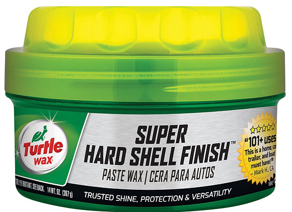 Turtle Wax Super Hard Shell Paste Wax, 14 oz.